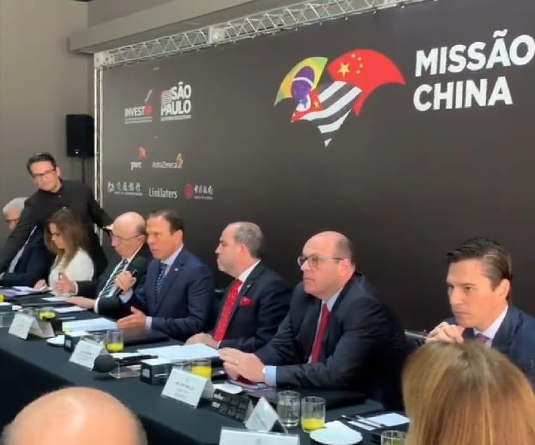 Resultado de imagem para Doria reunião com chineses