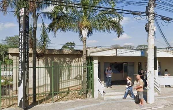 Foto: Estação Antônio João da Linha 8-Diamante./reprodução Google Street
