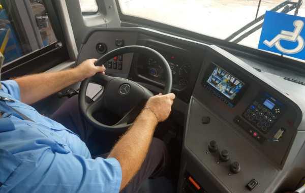 Instrutor de treinamento, Márcio Constantino durante treinamento de motoristas. Foto: Divulgação BRT Sorocaba